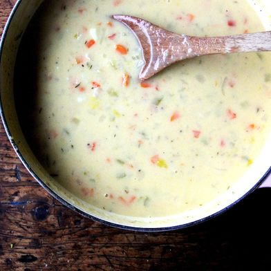 Vermont Cheddar Cheese and Beer Soup