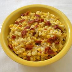 Granddaddy's Skillet Fried Corn with Bacon