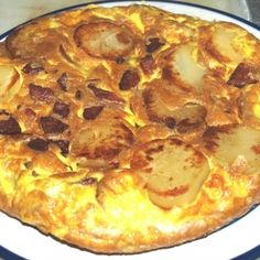 Andouille Tortilla