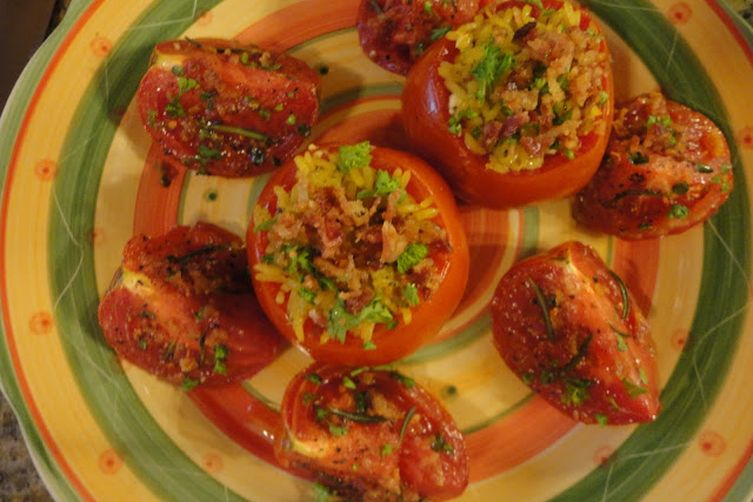 Simple Stuffed Tomato