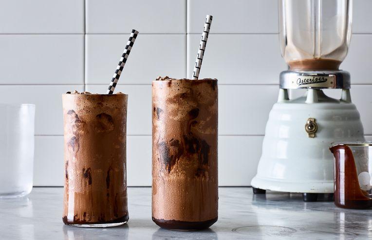 For the Best Chocolate Milkshake, Make a Black & White