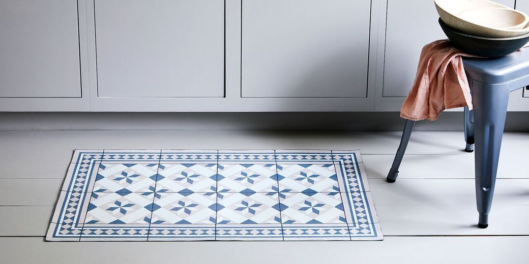 These mosaic mats transform in a snap—but hurry, they sell out fast.