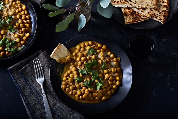 Creamy Chickpea Curry