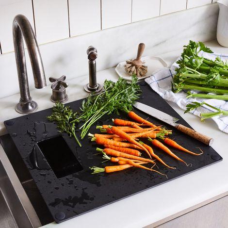 Food52 x Epicurean Matte Black Over the Sink Board