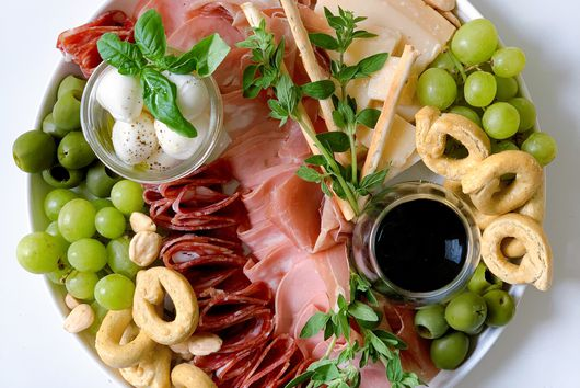 """Italian Countryside"" Cheese Plate from Marissa Mullen"