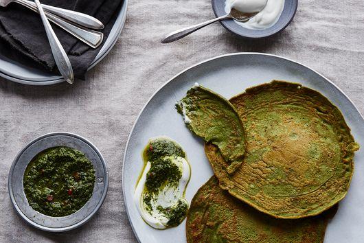 Savory Mung Bean Pancakes