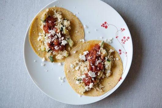 Zucchini Breakfast Tacos