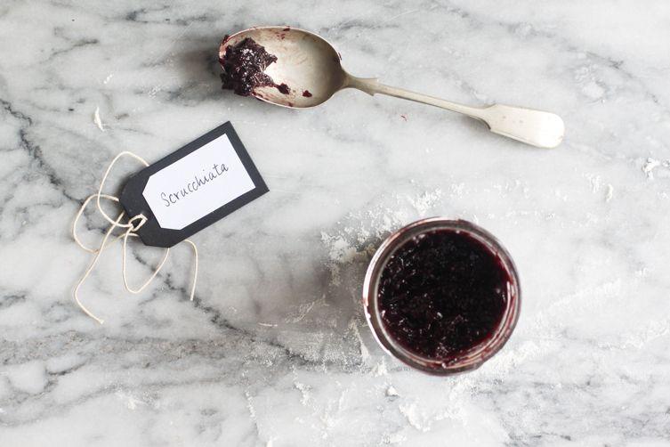 Sugarless Grape Jam (Scrucchiata)