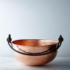 Vintage Copper Jam Pan Cauldron, Late 19th Century
