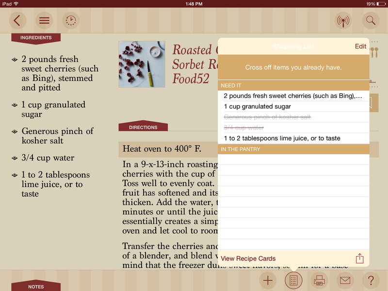 13 iPad Apps to Keep in the Kitchen