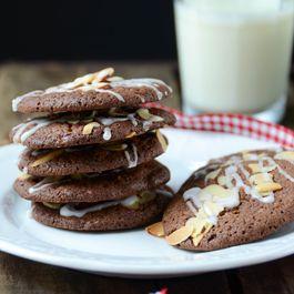 Mocha Almond Brickle Cookies