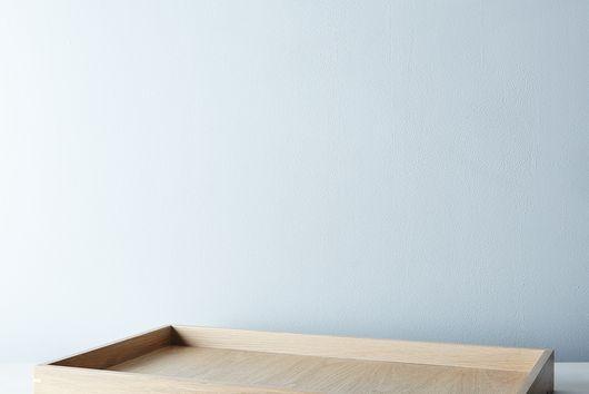 Handmade Wood & Brass Tray