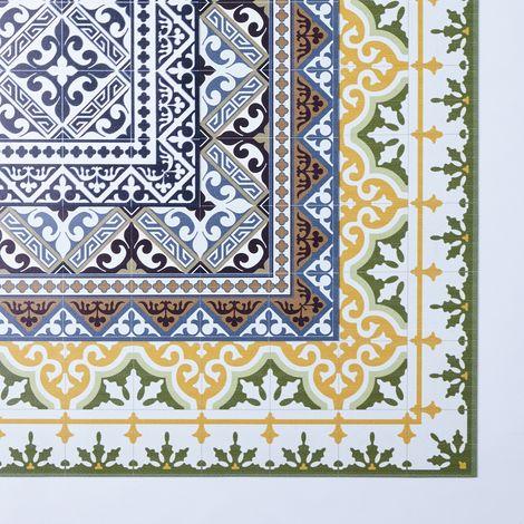 Mediterranean Vinyl Kitchen Mats