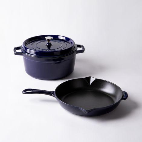 Staub 3-Piece Cast Iron Cookware Set