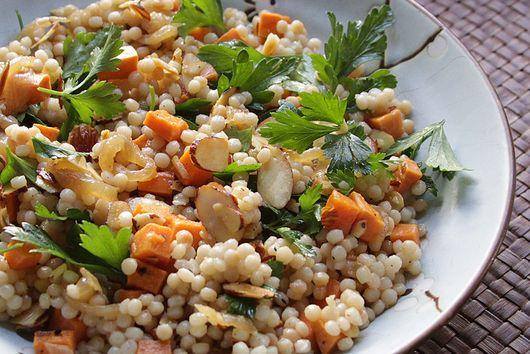 Pickled Sweet Potato Couscous Salad