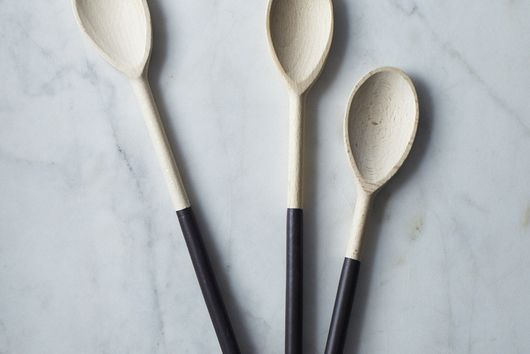 Fresh Soil-Dipped Wooden Spoons (Set of 3)