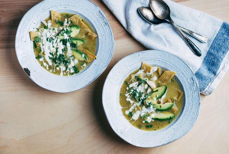 ... Guiding Principles of Soup (& a Recipe for Tomatillo Tortilla Soup