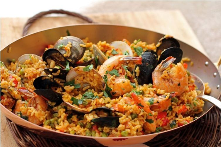 Spicy andalusian seafood paella recipe on food52 for Andalucia cuisine