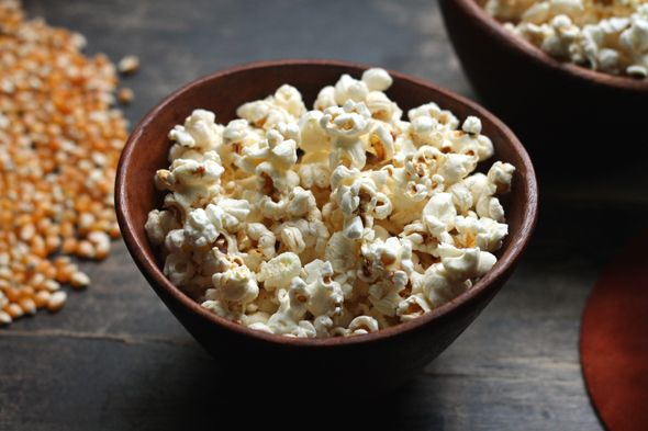 Brown Butter Popcorn