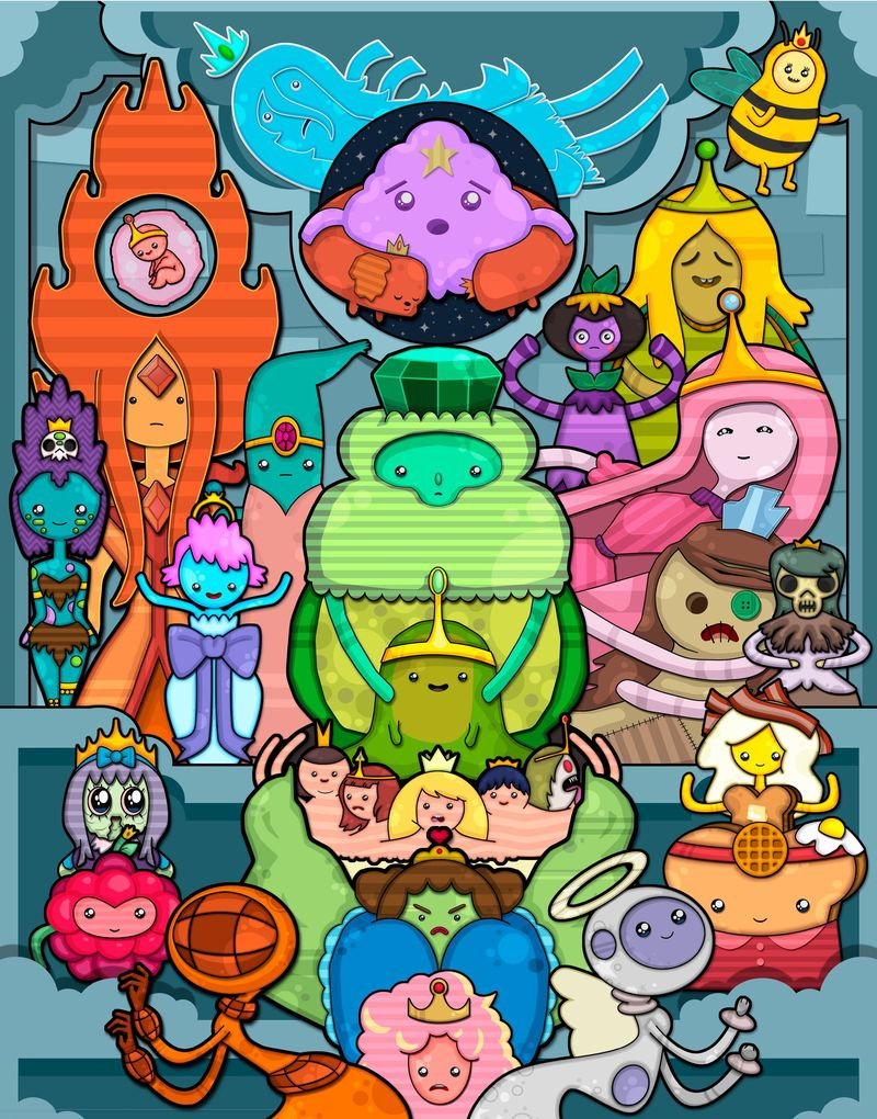 'Eating Ooo: Recipes and Art Inspired by Pendleton Ward's Adventure Time.'