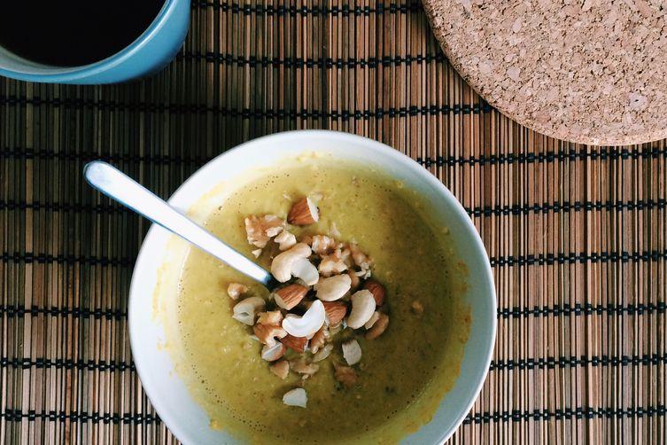 Turmeric porridge