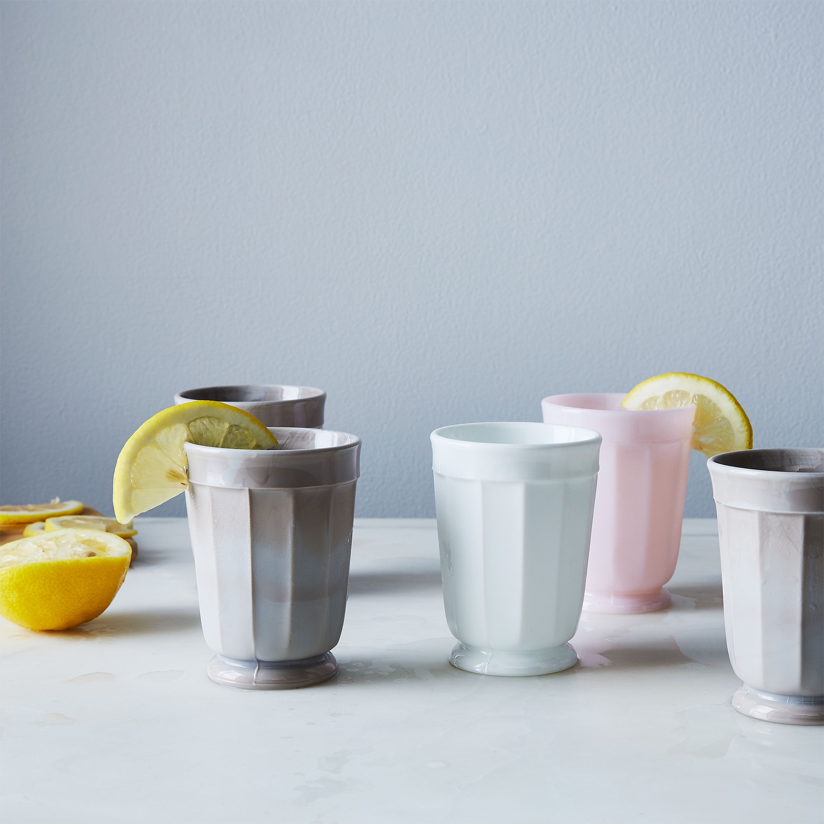 Faceted Glass Tumblers (Set of 4) on Food52