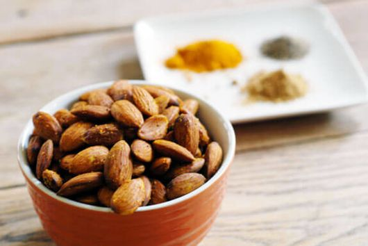 Curried Almonds in Your Crock Pot