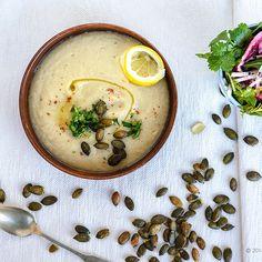 Sunchoke & Parsley Soup