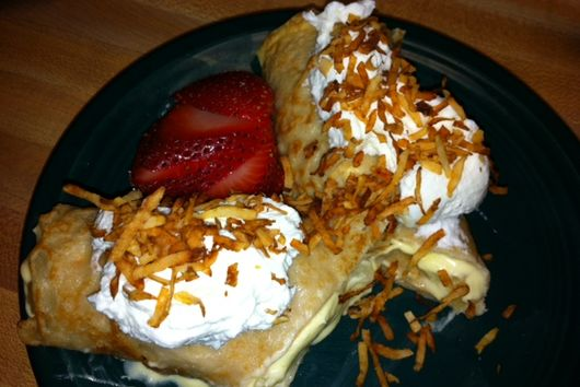 Coconut Paradise Crepes