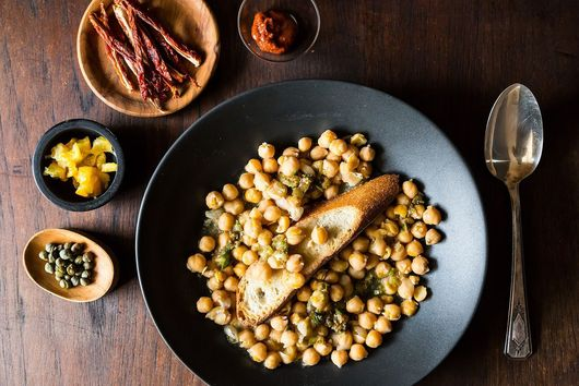 Lablabi (Tunisian Spicy Chickpea Stew)