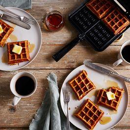 Stovetop Belgian Waffle Iron