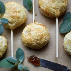 Fig & Brie Pastry Pops