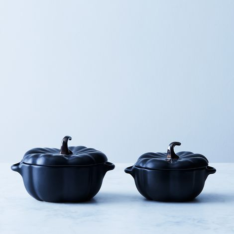 Staub Black Ceramic Mini Pumpkins (Sets of 2)