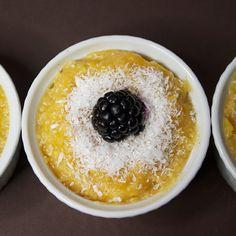 Butternut & Coconut Polenta Pudding