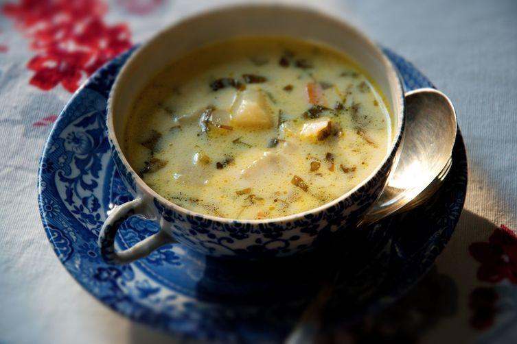 Creamy Sorrel Soup Recipe On Food52
