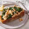 White Bean & Kale Toast with Herbes de Provence