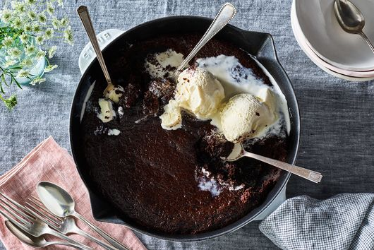 A Brownie à la Mode You Can Make, Bake & Eat Right in the Pan