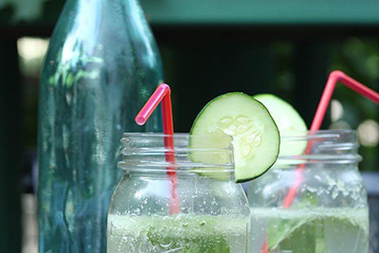 Cucumber Basil Spritzer