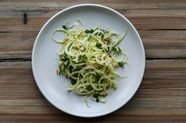 Shaved Fennel and Tuna Salad with Preserved Lemon