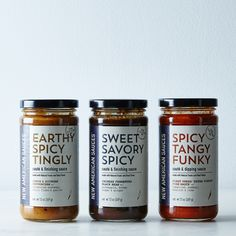 Sweet & Savory Finishing Sauces (3-Pack)