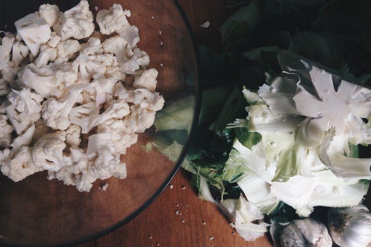 "Creamy Cauliflower ""Alfredo"" Sauce"