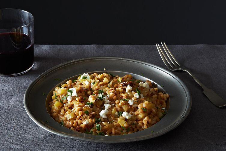 Farro Risotto on Food52