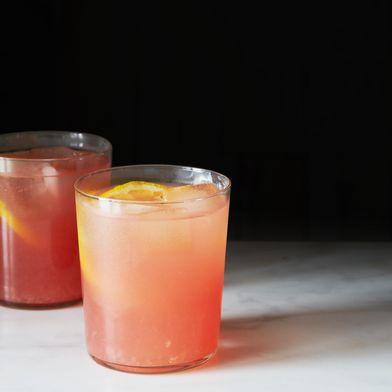 Boozy Watermelon Rosemary Lemonade