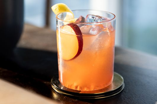 A Refreshing Bourbon Sour, Starring the Season's Last Plums
