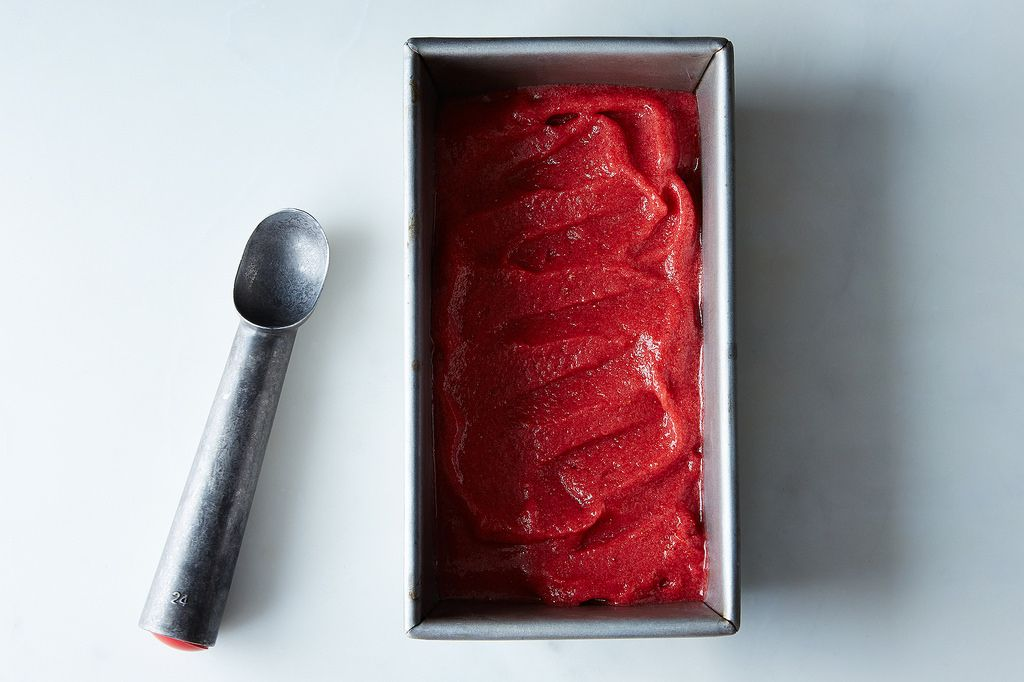 Strawberry Sorbet from Food52