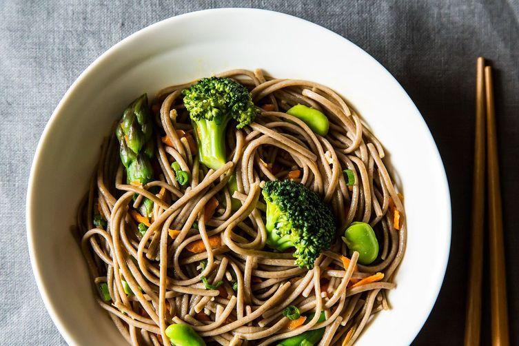 Vegan Soba Noodle Salad by Gena Hamshaw