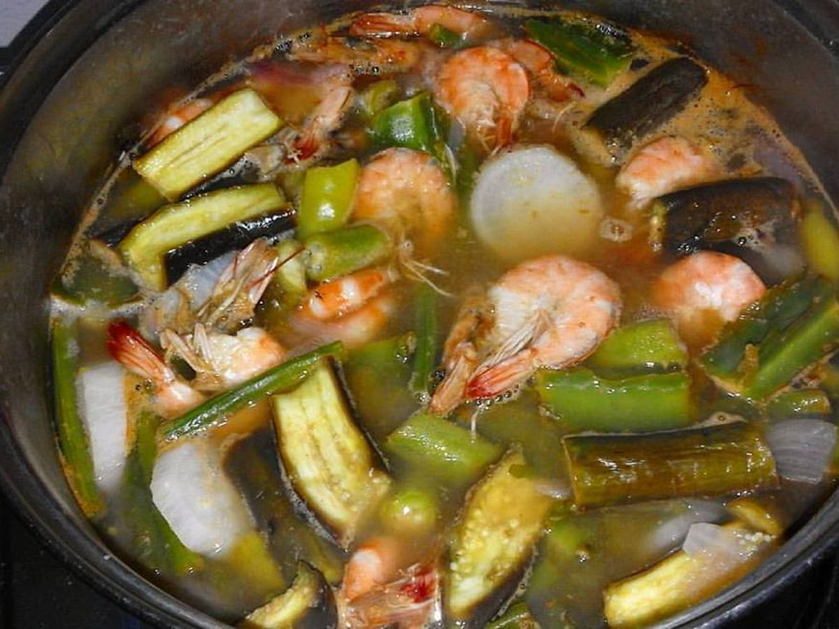 Shrimp Sinigang With Tamarind And Miso Recipe On Food52