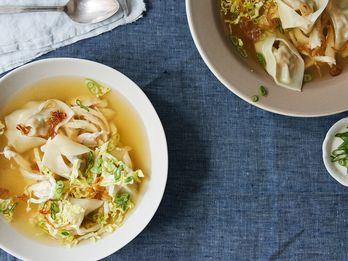 The Filipino Pork & Shrimp Dumpling Soup I Grew Up On