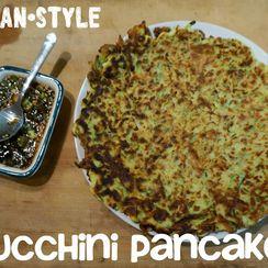 Korean-Style Zucchini Pancakes