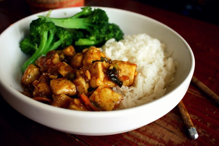 Spicy Ginger-Orange Tofu